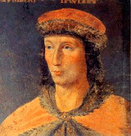 Portrait du Dauphin Humbert II de Viennois jeune (Wikimedia Commons)