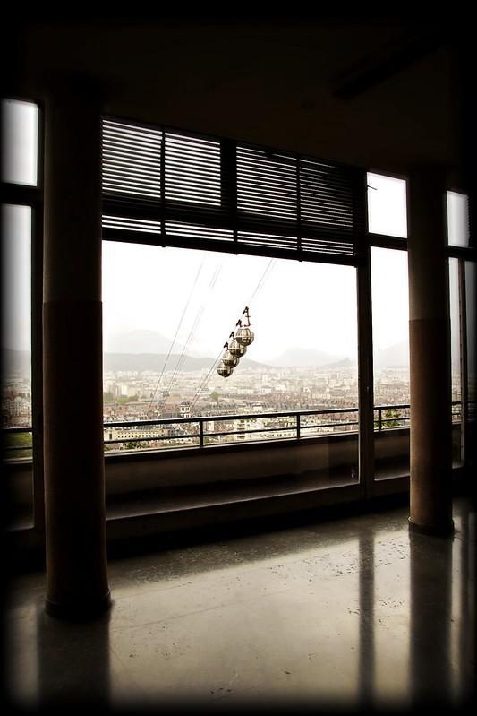 Vue depuis l'Institut Dolomieu (David, flickr)