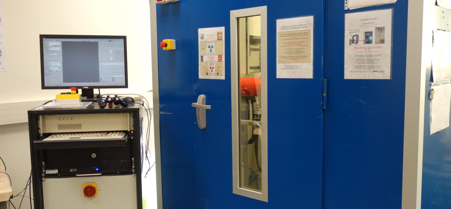 Tomographe à rayons X - 3SR © Univ. Grenoble Alpes