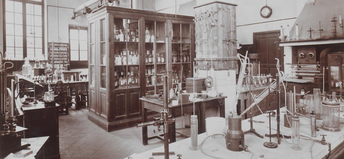 Laboratoire de chimie de la faculté des sciences de Grenoble (19e siècle)