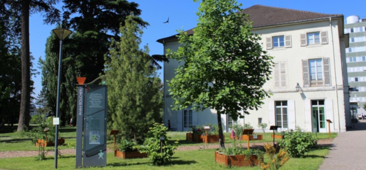 Jardin botanique Dominique Villars © Cellule communication santé - Nathalie Deschamps