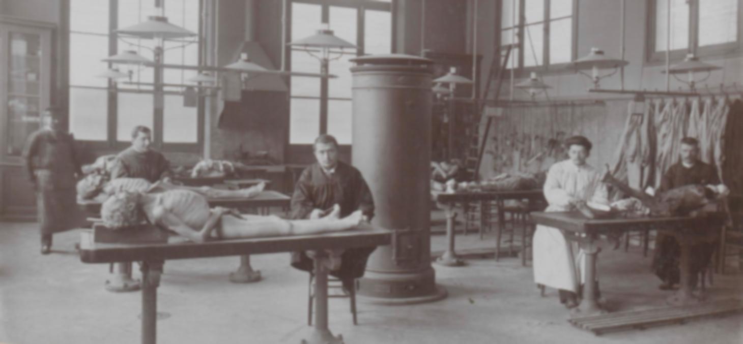 Dissection à l'école de médecine de Grenoble au XIXe siècle - Bibliothèques universitaires - SID Université Grenoble Alpes - Grenoble INP